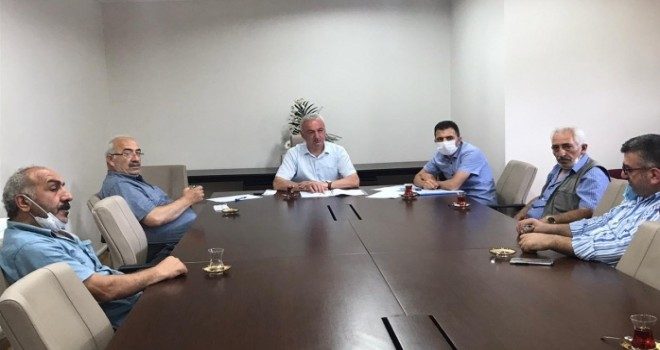 Kalkandere Belediyesi meclis toplantısı yapıldı