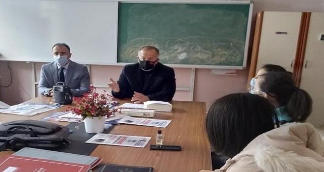 Köseoğlu,İkizdere'de Öğretmenleri Ziyaret Etti