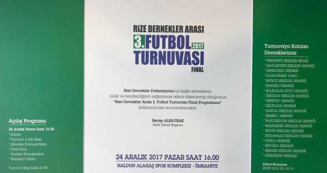 Ridef Futbol Turnuvası