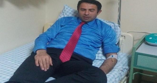 İl Genel Meclis Üyesi Mehmet Öztürk Geçmiş Olsun