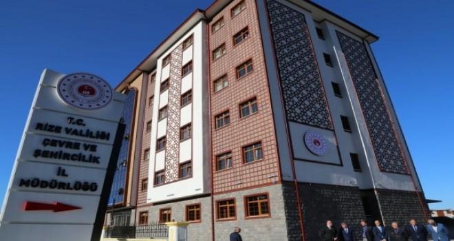 Çevre ve Şehircilik İl Müdürlüğünün İslam Paşa Mahallesinde Yeni Hizmet Binası