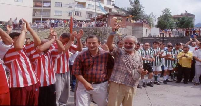 Kalkandere 'de Geçmişten Futbol ve Veleybol Turnuvaları