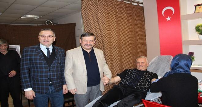 Kalkandere Yetımoğlu Derneği Kan Bağışı