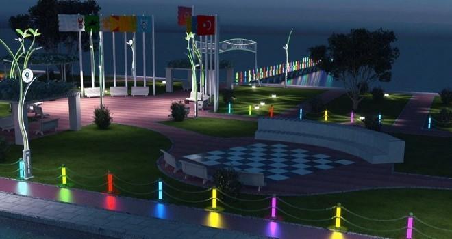 Rize Belediyesi Doğu park Projesine Başladı