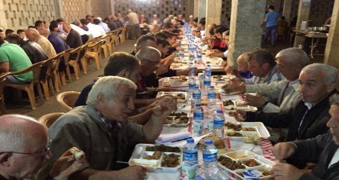 Kalkandere Çağlayan Köyünde İftar Yemeği