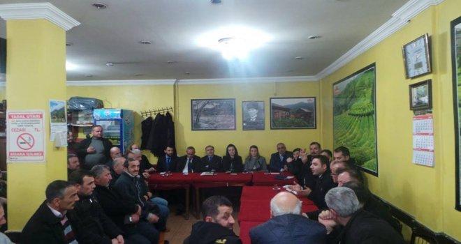 Kalkandere Kaymakamı Halkla Buluşma Toplantısı