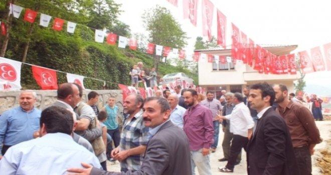 MHP'liler Köylerde Coşku ile Karşılanıyor
