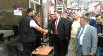 Ak Parti Milletvekili Karal Kalkandere'de