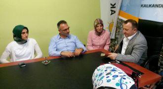 Ak Parti Gebze İlçe Başkanı Kalkandere'de