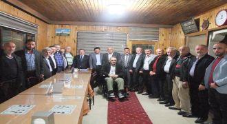 Ak Parti ilçe Başkanı Köy Muhtarlarıyla Buluştu