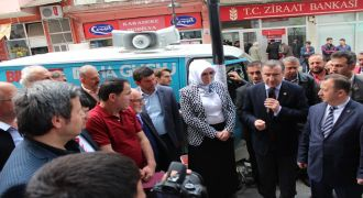 AK Parti Kalkandere Seçim Burosu Açılışı