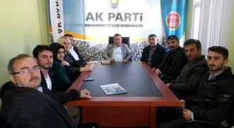 Ak Parti Kalkandere Teşkilatı toplantısı