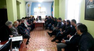 AK Parti Kalkandere Yönetim Kurulu Toplantısı.