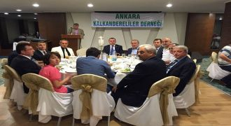 Ankara Kalkandereliler Derneği İftar Yemeği