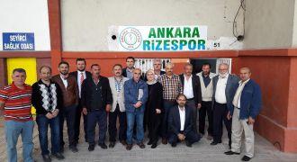 Ankara Kalkandere Derneği Kongresi Yapıldı