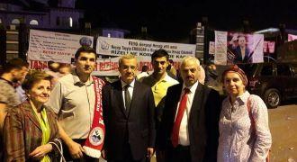 Ankara Rizeliler Derneği Demokrasi Nöbetinde
