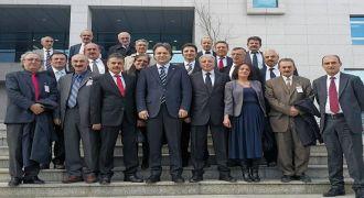 Ankara Rizeliler Derneği'nden Teşekkür Ziyareti