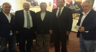 Ankara Rizespor Klup Başkanı Kansızoğlu Ziyareti