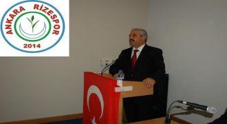 Ankara Rizespor Kulübü Anneler Günü Mesaji