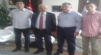 Ankara Rizespor Sivil Havacılık Müdürüne Ziyaret