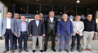 BAKAN İPEK VE HSYK ÜYELERİ KIBLEDAĞI'NDA