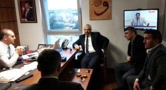 Başkan Kansızoğlun'dan Kandemir'e Ziyaret