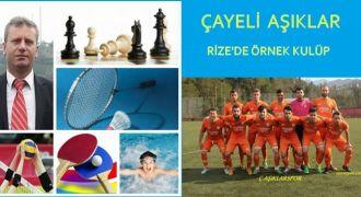 Çayeli AşıklarSpor Rize'de Örnek Kulüp