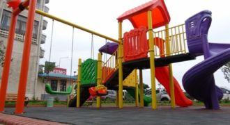 Çocuk Oyun Alanları Yenileniyor