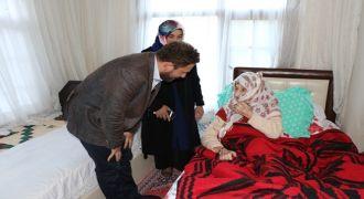 İl Başkanı Avcı'dan Yaşlı Nineleri Ziyaret