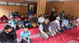 Kalkandere AİHL Mescidi İbadete Açıldı