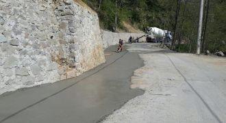 Kalkandere Belediye Yol Genişleme Çalışması