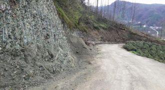 Kalkandere Belediyesi Yol Genişleme Çalışması
