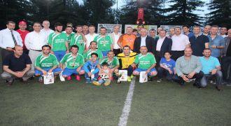 Kalkandere Çay Fabrikası Turnuva Şampiyonu