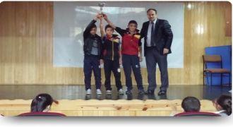 Kalkandere Çayırlı Köyü Okulu Kupa Töreni