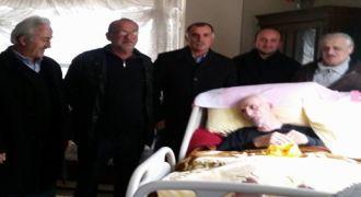 Kalkandere CHP İlçe Teşkılatı Hasta Ziyareti
