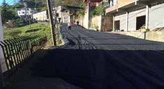 Kalkandere Dülgerli Köyü Asfaltlama Çalışmaları