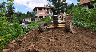 Kalkandere Dülgerli Köyü Yol Çalışmaları