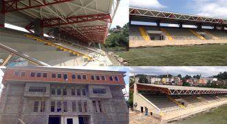 Kalkandere Futbol Sahası Tesisleri Son Durum