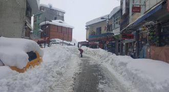 Kalkandere Kar Yağışı Son Durum
