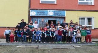Kalkandere Kaymakamı Dağdibi Okulu Ziyareti