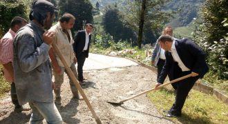 Kalkandere Kaymakamından Köylere Ziyaret