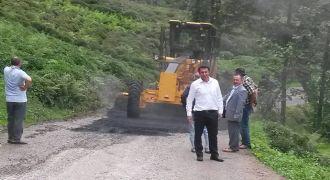 Kalkandere Köylerde Asfaltlama