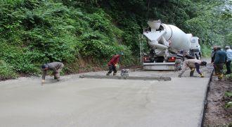 Kalkandere Köyleri Grup Yolu Betonlama