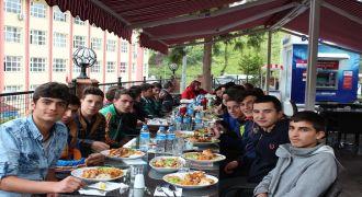 Kalkandere Lisesi Aile Birliği Yemeği