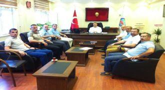 Kalkandere Okul Müdürleriyle Toplantı Yapıldı