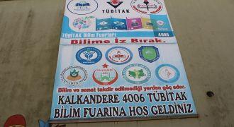 Kalkandere Okullarında Tübitak Fuarı