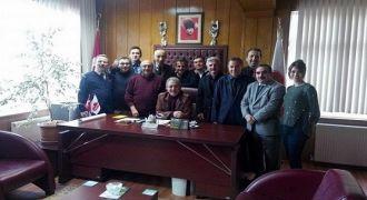 Kalkandere Taşcılar Fabrikası Müdürü Veda etti