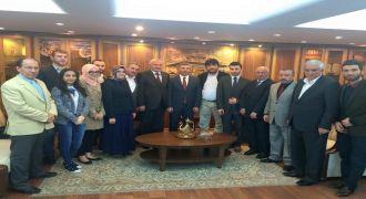 Kalkandere Vakfı Hilmi Türkmen'e Ziyaret