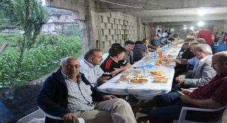 Kalkandere Yokuşlu Köyü İftar Yemeği