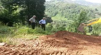 Kalkandere Yokuşlu Köyü Yeni Yol Açılması